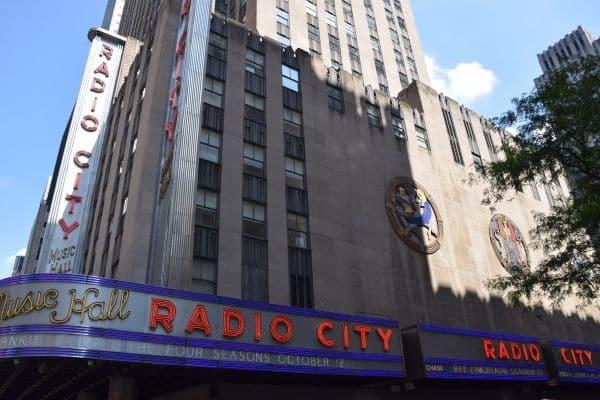 Radio City Music Hall New York City in 4 Days