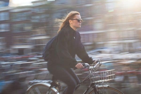 Riding a bike instead of driving saves money for travel