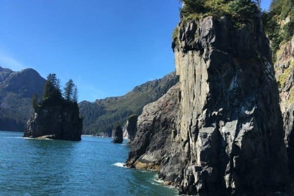 Rocks Kenai Fjords Alaska weekend