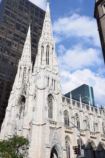St Patricks Cathedral New York City
