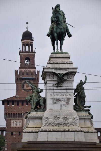 Statue in Milan Italy-2 Day Itinerary