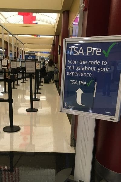 TSA Precheck avoids airport lines