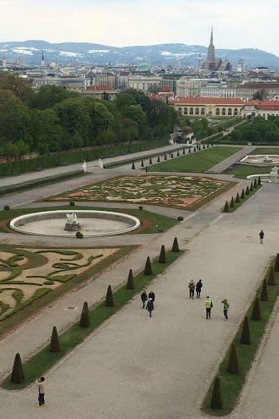 The Belvedere gardens Vienna 4 Day Itinerary