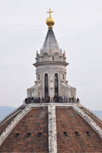 Tourists on Florence Duomo Italy