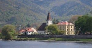 Town in Danube Wachau Valley Austria