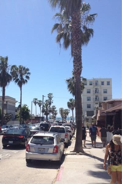 Venice Beach can be seen on a solo road trip