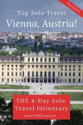 Vienna Austria 4 Day Solo Travel Itinerary
