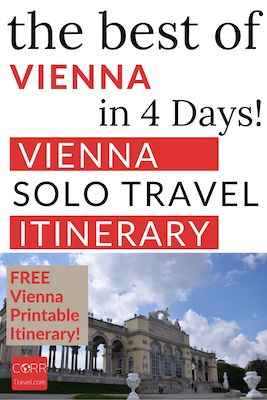 Vienna in 4 Days Solo Travel Itinerary