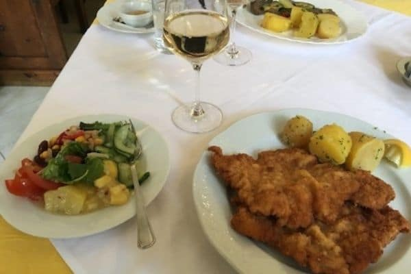 Wachau Valley-traditional meal