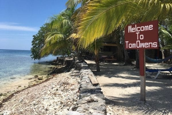Welcome to Tom Owens Caye Belize
