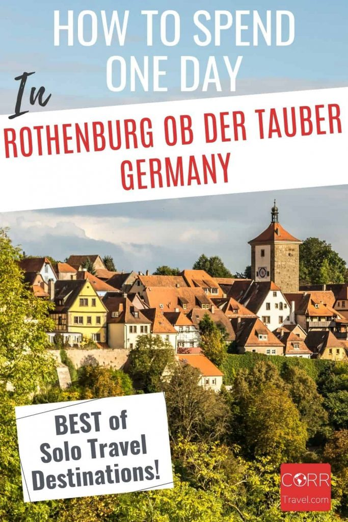 One Day in Rothenburg ob der Tauber_best of Solo travel
