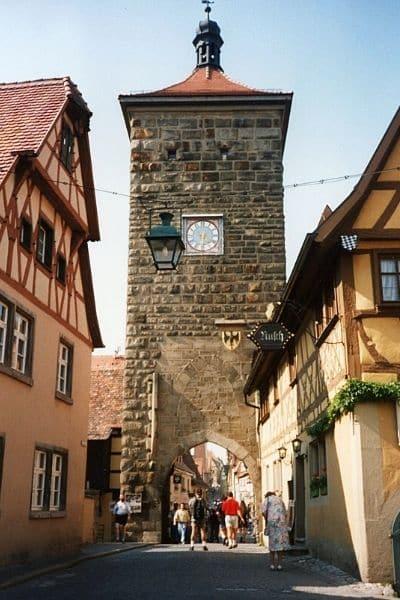 Rothenburg ob de Tauber clock tower