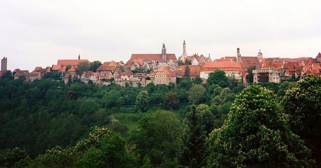 Rothenburg ob de Tauber Germany