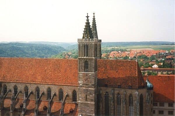 St James Church Rothenburg ob de Tauber