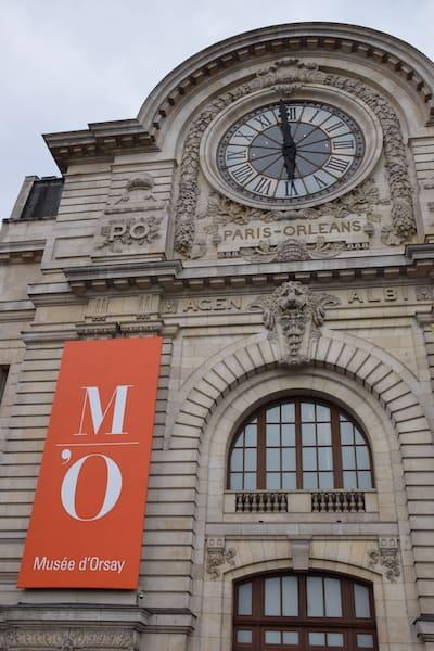 Outside Musée dOrsay Paris