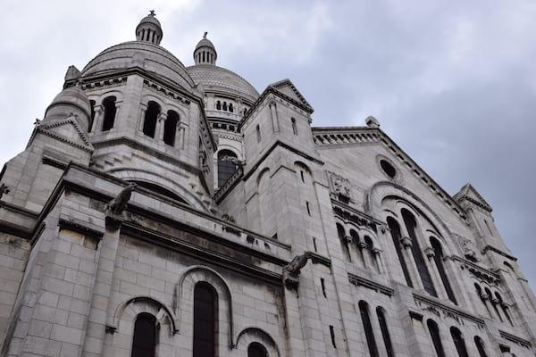 Basilique du Sacré-Cœur on day 3 of 4 days in Paris