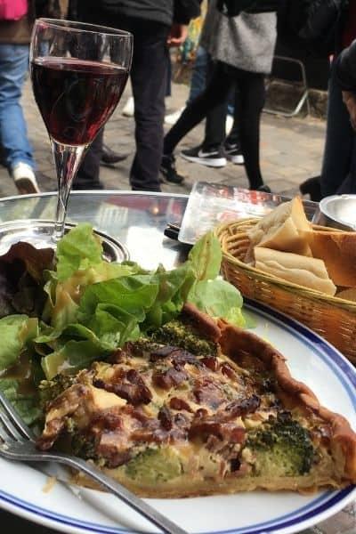 Bistro de Montmartre lunch