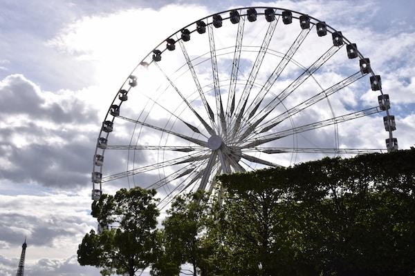Place de la Concorde Ferris Wheel on day 4 of 4 days in Paris