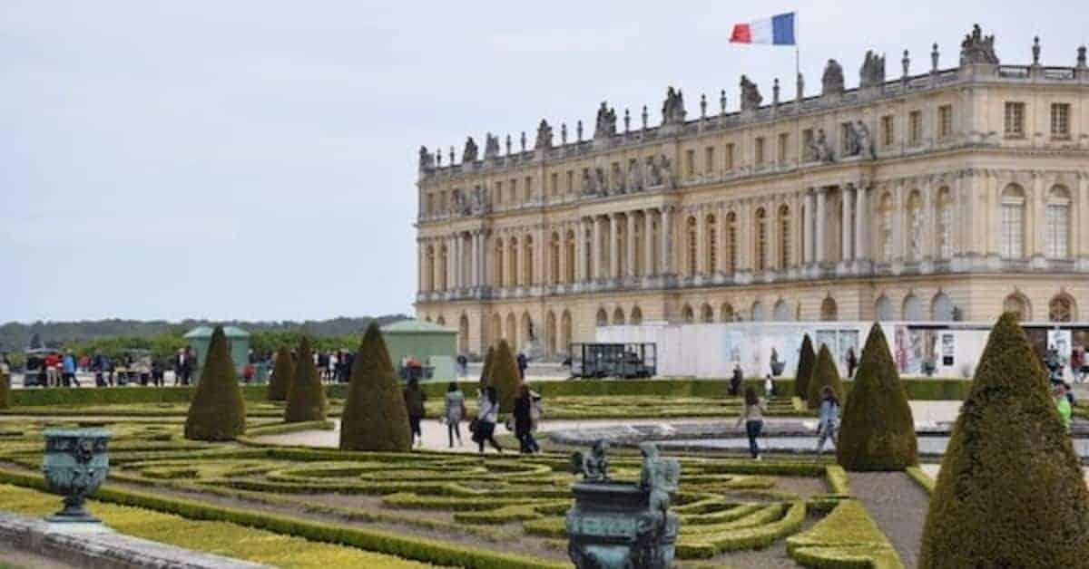 Gardens at Palace of Versailles France