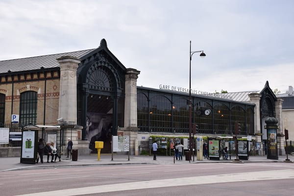 Arrive at the Gare de Versailles France on your day trip from Paris
