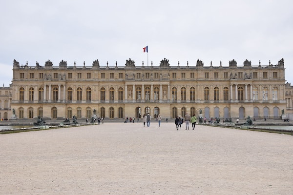 The Park Palace of Versailles France