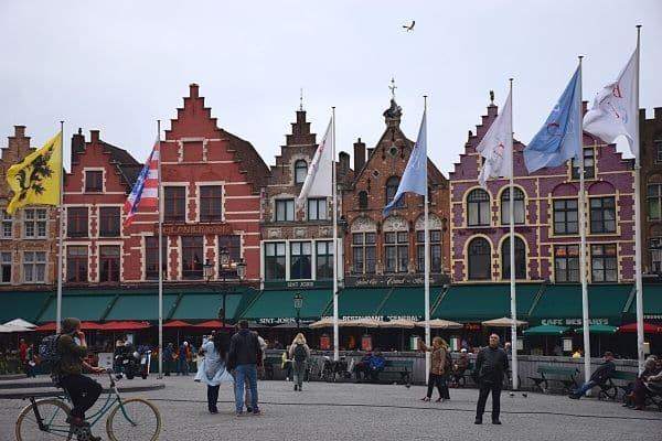 Markt Square Bruges on one day in Bruges from Brussels