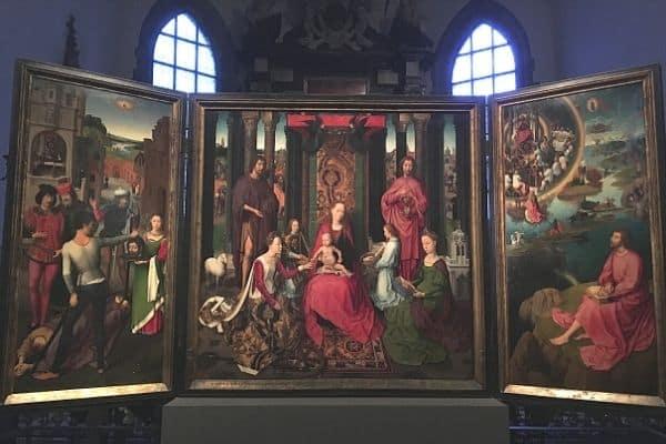 St John altarpiece Museum St-Janshospitaal Bruges
