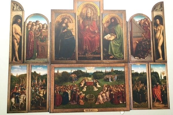 Ghent Altarpiece on one day in Ghent