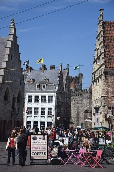 See Ghent City Center on one day in Ghent