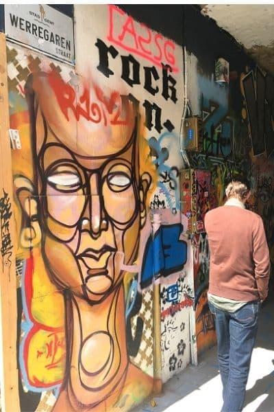 Graffiti Street Ghent Belgium