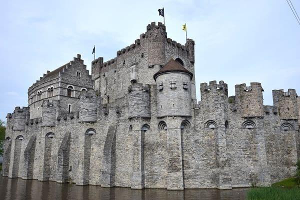 Gravensteeen Castle in one day in Ghent