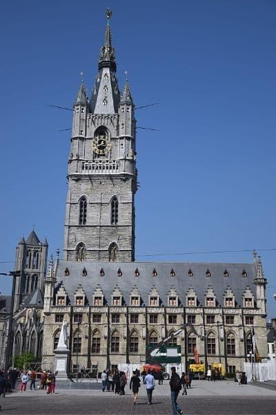 Het Belfort van Gent Belgium
