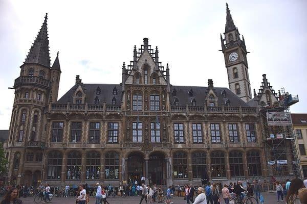 Korenmarkt Ghent Belgium