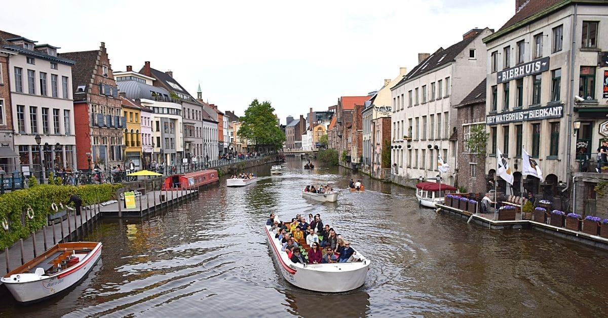 One Day in Ghent_Boat tour