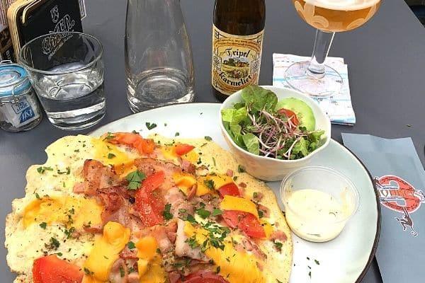 Pub food and beer Ghent Belgium