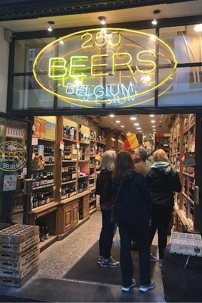 250 Beers of Belgium store Brussels