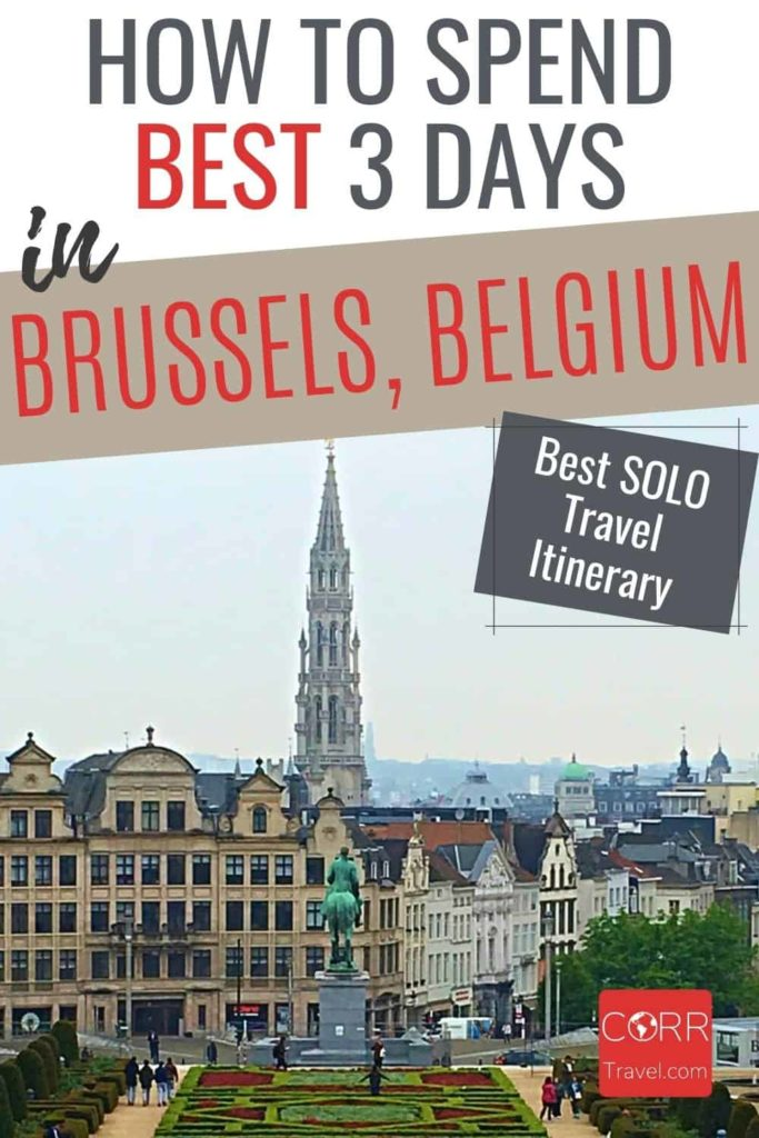 3 Days in Brussels Solo Travel Itinerary
