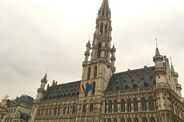 Brussels City Hall La Grand Place