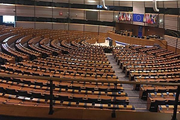 European Parliament Hemicycle Brussels