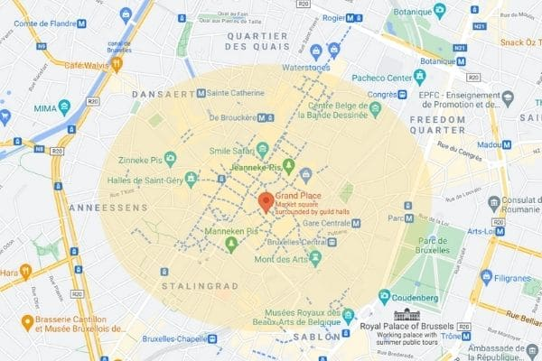 Where-to-Stay-in-Brussels-map