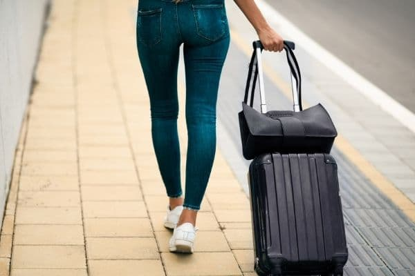 Carry-on and personal item bags