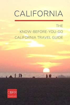California travel guide Pinterest image