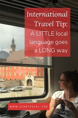 Why You Should Learn a Language for Travel Pinterest image