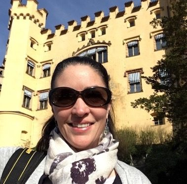CORR Travel founder at Hohenshwangau Castle Germany