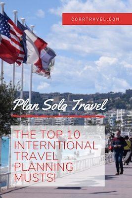 Top 10 International Planning Musts