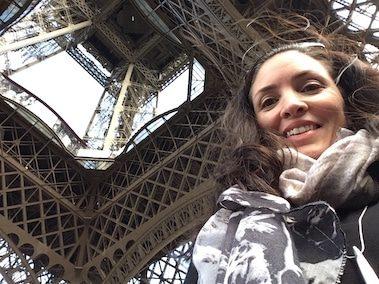 CORR Travel founder at Eiffel Tower Paris