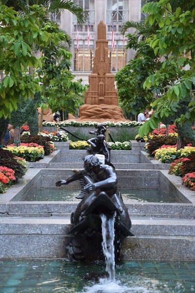 Fountains at Rockefeller Center