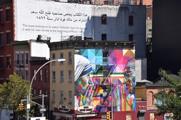 New York City building murals