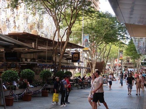 Queens Street Mall Brisbane