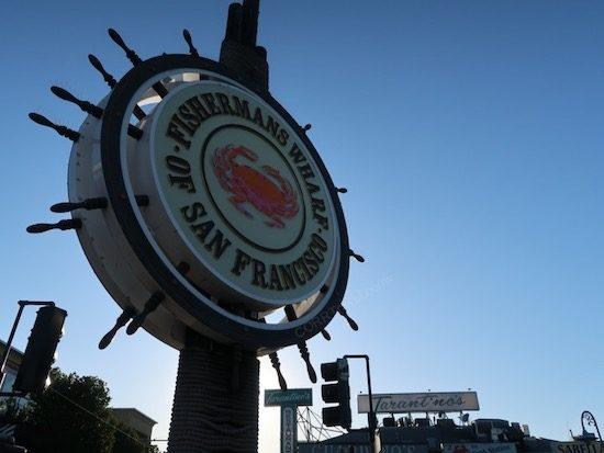 Fisherman's Wharf sign San Franscisco